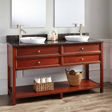 right offset vanity top with sink with left offset bathroom vanity