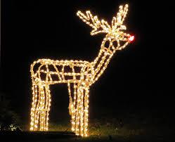 winter reindeer ruldolph lawn winter santa