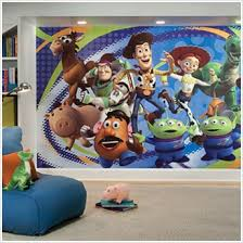 story 3 pre pasted wall murals huge realistic wall decor toy