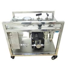 Relief Valve Test Bench Wellness Model Ws Ah400 200 300mpa High Pressure Air Hydraulic