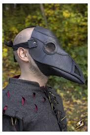 real plague doctor mask epic armoury canada s plague doctor black mask