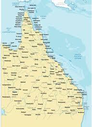 map of queensland aboriginal and torres strait islander language resources maps