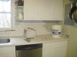 Subway Tile Backsplash White Cabinets Kitchen Subway Tile Backsplash Ideas With White Cabinets Window