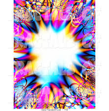royalty free colorful stock fractal designs