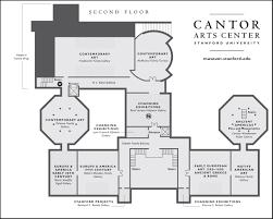art museum gallery floor plan cantor arts center exhibitions