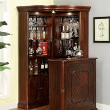 living room bar table voltaire traditional style curio corner cabinet bar counter table set