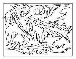 abstract art coloring pages free printable abstract coloring pages