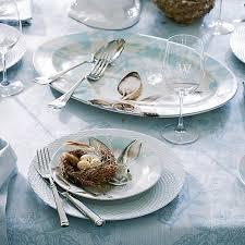 damask bunny dinnerware collection williams sonoma