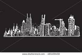 city skyline sketch stock images royalty free images u0026 vectors