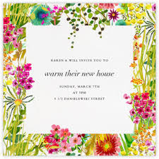 Ceremony Cards F Housewarming Party Invitations Online At Paperless Post