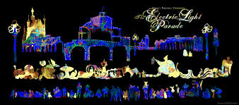 electric light parade disney world evan turk s travel reportage and illustration blog disney s