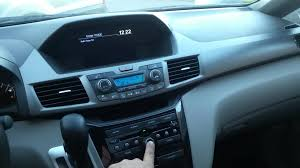 how to bypass unlock radio with out entering code on honda or