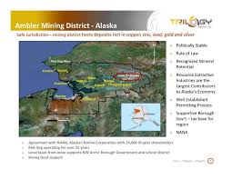 Kotzebue Alaska Map by Trilogy Metals Tmq Presents At The 85th Annual Pdac Conference