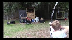 budget diy archery moving target 7 youtube
