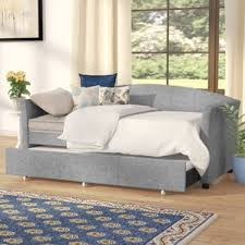 full size upholstered daybed wayfair