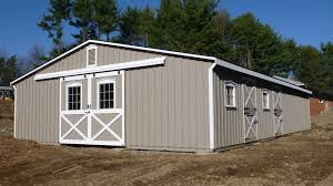 Monitor Style Barn by Modular Horse Barns The Barn Raiser