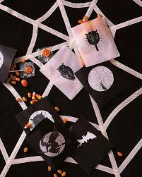 halloween goody bags halloween treat bags and favors martha stewart