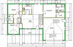 blueprints for house blueprints for a house simple modern plans home with measurements 3