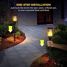 Landscaping Lights Solar Taotronics Solar Garden Lights Solar Torch Light Solar Powered