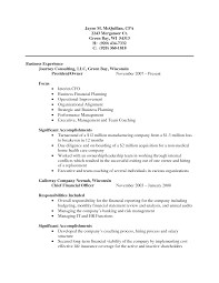 Cost Accounting Resume Cpa Resume Examples Submited Images Example Certified Public