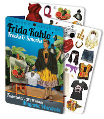 amazon com frida u0027s frocks and smocks frida kahlo magnetic dress