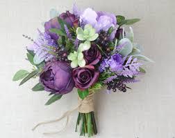 purple wedding flowers wildflower bouquet lavender bouquet wedding bouquet bridal