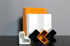Orange Desk Accessories by Ceramic Desk Accessories By Aldo Cotti For Tronconi 1970 Set Of
