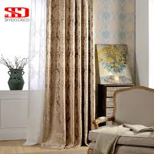 aliexpress com buy european damask curtains for living room