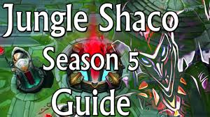 jungle shaco season 5 commentary guide youtube