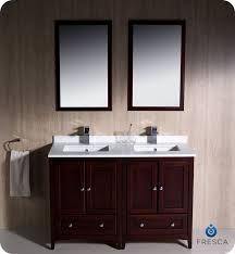 charming 48 in double vanity and kubebath dolce 48 double sink ash