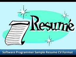 resume format free download 2015 cartoons software programmer sle resume cv format youtube