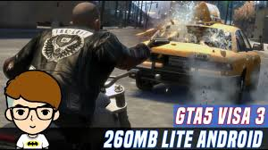 gta 5 data apk gta 5 visa 3 lite only 260mb on android apk data with gameplay no