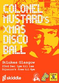 colonel mustard u0026 the dijon 5 all day xmas disco ball tickets