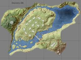 Topography Map I Created A Topographic Map Of Sanctuary Hills Fo4