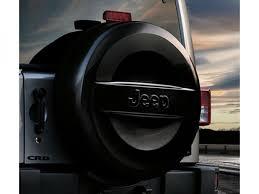 tire cover jeep wrangler genuine mopar spare tire cover black molded jeep logo part