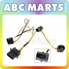 96 00 mercedes benz e320 headlight wire wiring harness connector