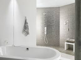 cubica silver this glossy metal effect wall tile has all the