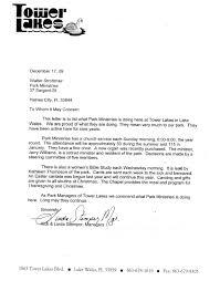letter for thanksgiving park ministries