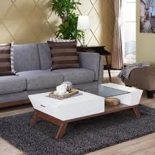 livingroom table mid century coffee console sofa end tables shop the best