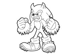 Sonic Coloring Pages Free Print Coloring Image Free Printable Free Sonic Coloring Pages