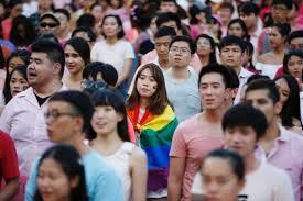 pink dot rally draws thousands of people singapore news u0026 top