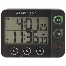 lakeland 18903 digital duo magnetic kitchen timer at the good guys