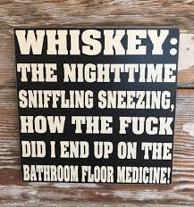 whiskey the nighttime sniffling sneezing how the did i end