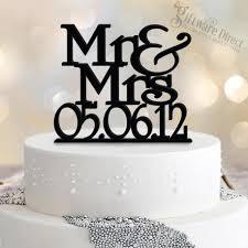 mr mrs cake topper personalised mr mrs wedding date cake topper custom made australia