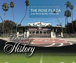 Arizona Stadium Map by Rose Bowl Stadium