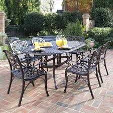 Patio Dining Set Cover Patio Ideas Home Styles Biscayne 7 Piece Aluminum Patio Dining
