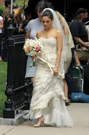 www wedding dress wedding dress designer for mila kunis in ted wedding gown town