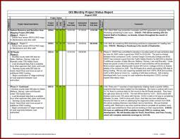 project management report templates and project status report
