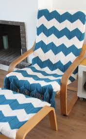 easy update for an old ikea poang footstool and chair covers