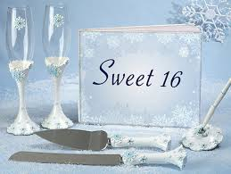 sweet 16 guest book winter theme guest book from 0 42 hotref